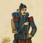Infantry, Algeria, 1853