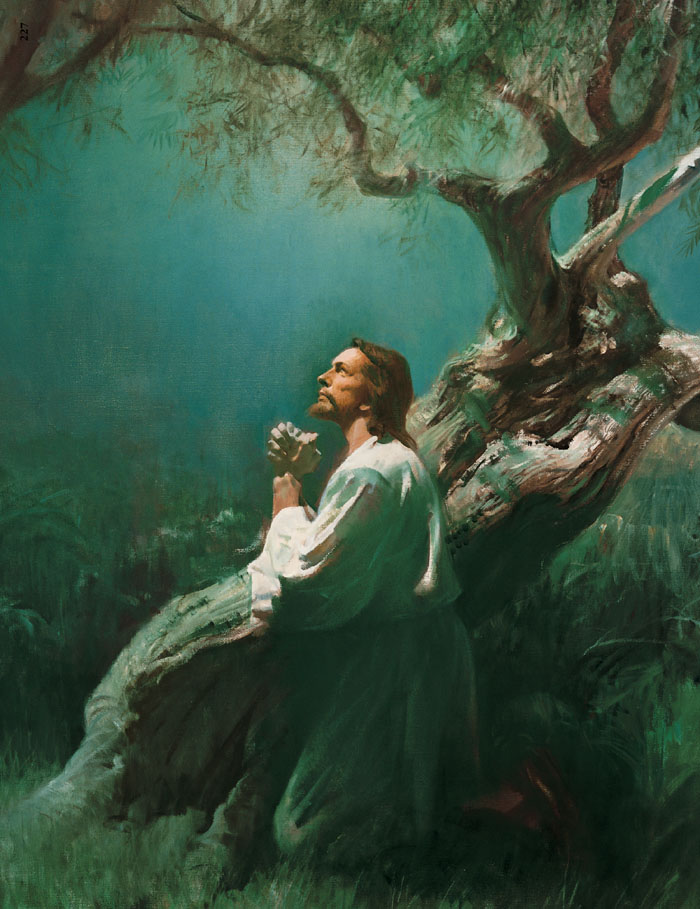 The great coming battle ammon shepherd Jesus praying in the garden of gethsemane